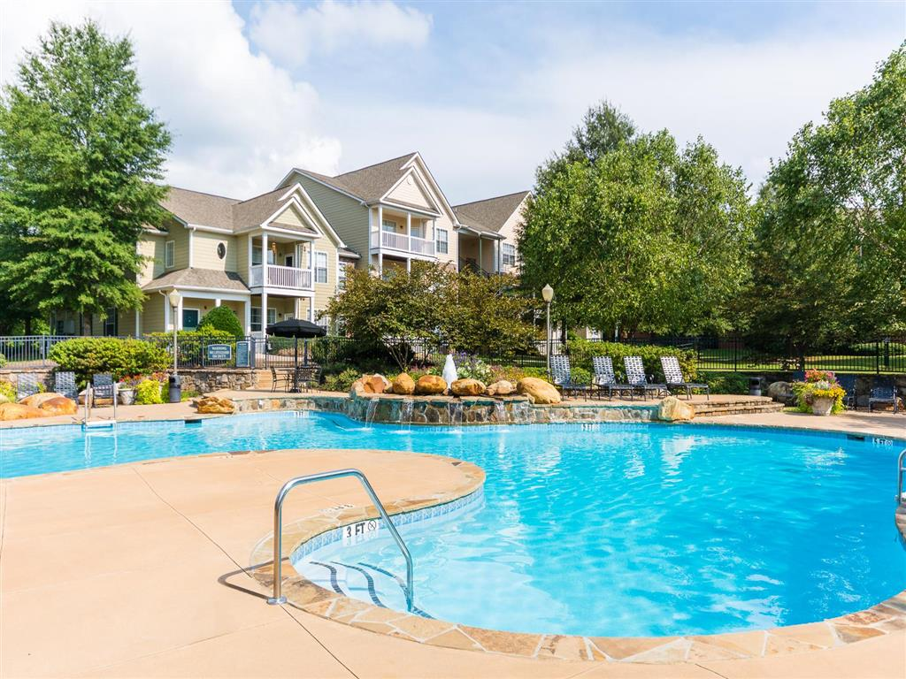 Urban Style Pool | Village at Almand Creek Apartments Conyers, GA