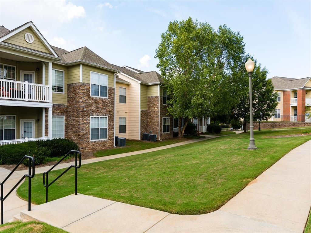 Walkway | Village at Almand Creek Apartments Conyers, GA
