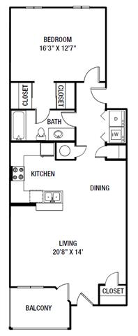 A2 floor plan.
