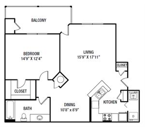 A3 floor plan.