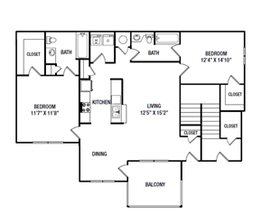 B5 floor plan.