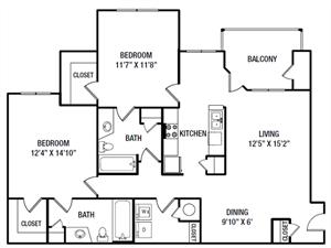 B4 floor plan.