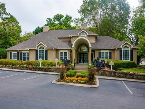 Nashboro Village   Apartments for Rent in Nashville, TN   Entrance Sign