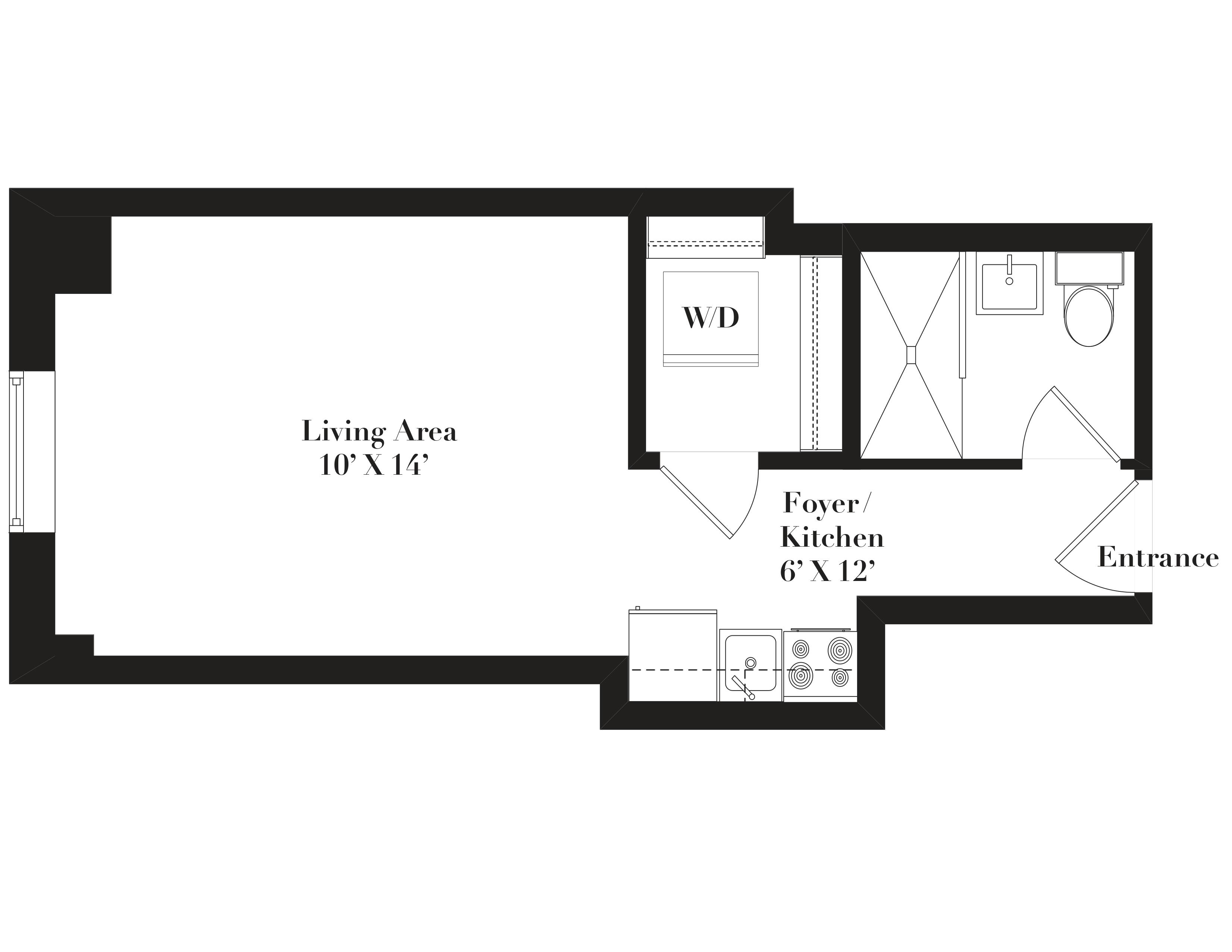 1020 West Lawrence Ave., Chicago, IL - 1,110 USD/ month