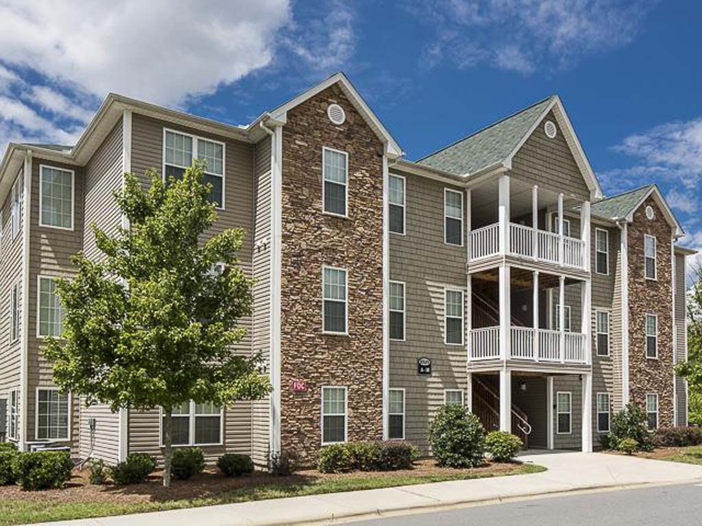 Ashley Court Apartments Charlotte, NC | Exterior