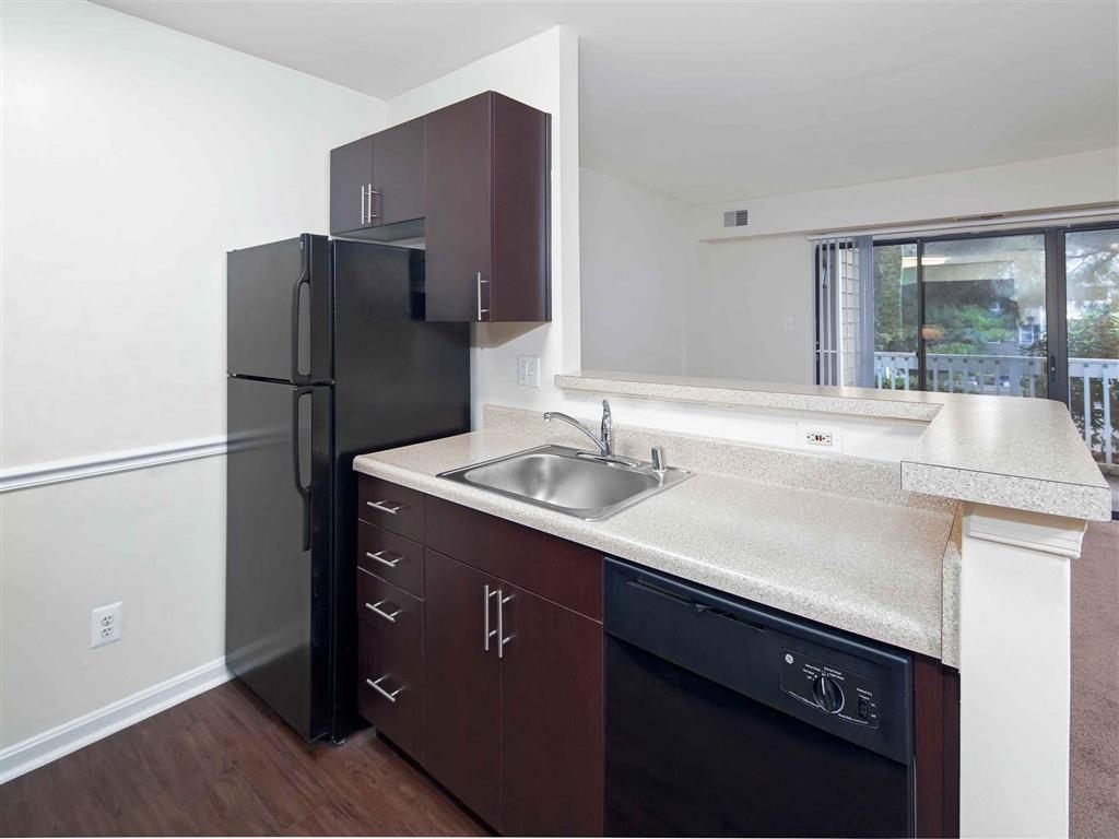 Black Appliances | Aston Woods | Apartments in Silver Spring, Maryland