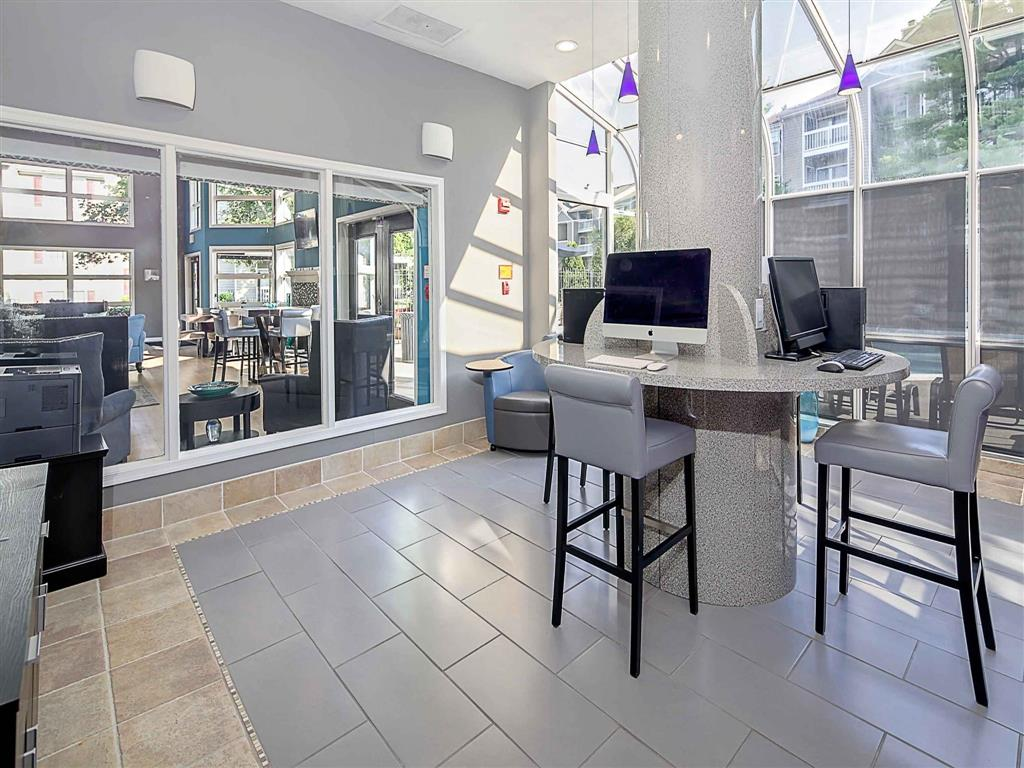 Business Center | Aston Woods | Apartments in Silver Spring, Maryland