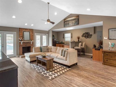 Clubhouse | Caveness Farms Apartment Homes Wake Forest, NC
