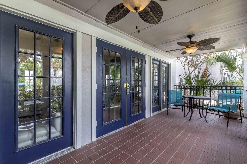 Costa Del Sol  Clubhouse Porch Area