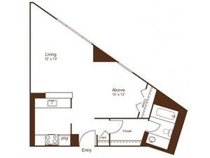 S1 floor plan Loft Style
