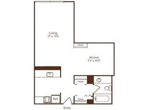 S2 floor plan Loft Style