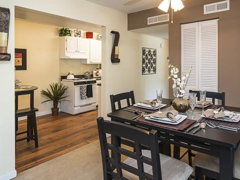 Dining Room | Grand Arbor Reserve Apartment Homes Raleigh, NC