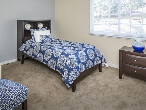 Bedroom | Grand Arbor Reserve Apartment Homes Raleigh, NC