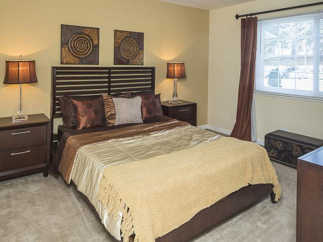 Master Bedroom | Grand Arbor Reserve Apartment Homes Raleigh, NC