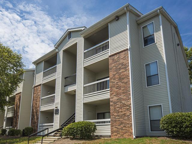 Apartment Exterior | Landmark at Pine Court Apartment Homes Columbia, SC