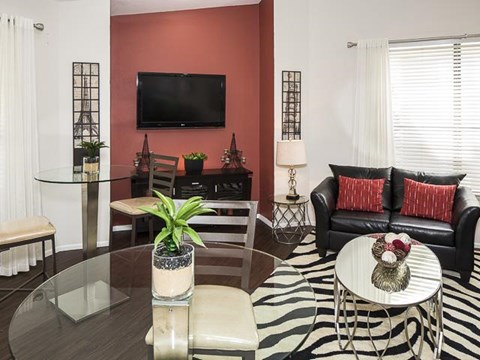 Coffee Café/Lounge Area | Landmark at Pine Court Apartment Homes Columbia, SC