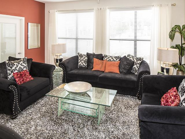 Living Room | Landmark at Pine Court Apartment Homes Columbia, SC