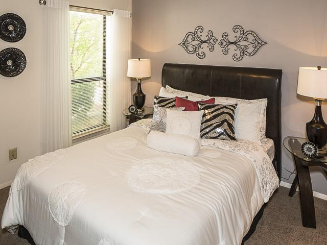 Bedroom | Landmark at Pine Court Apartment Homes Columbia, SC