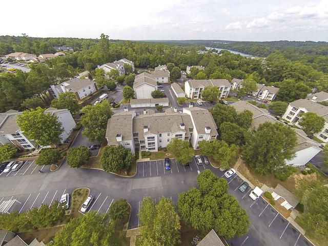 Aerial Image of Landmark at Pine Court Apartment Homes Columbia, SC