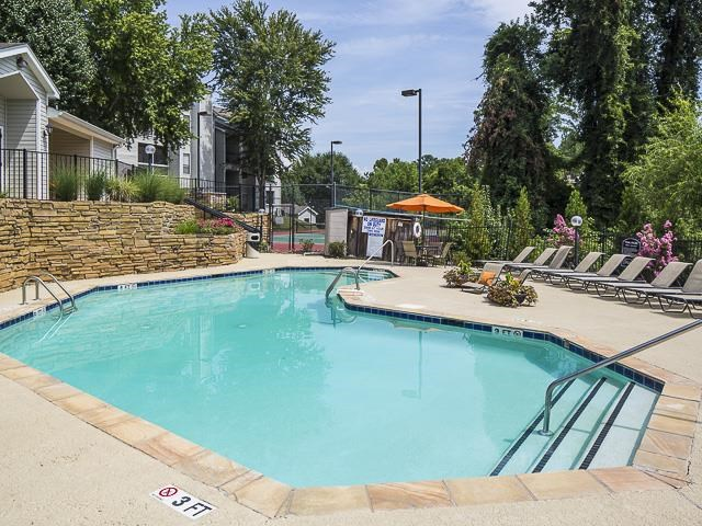Outdoor Swimming Pool | Landmark at Pine Court Apartment Homes Columbia, SC