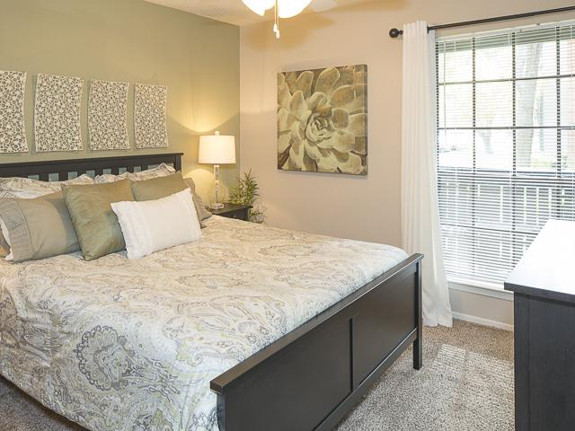Bright Bedroom | Landmark at Prescott Woods Apartment Homes Austin, TX