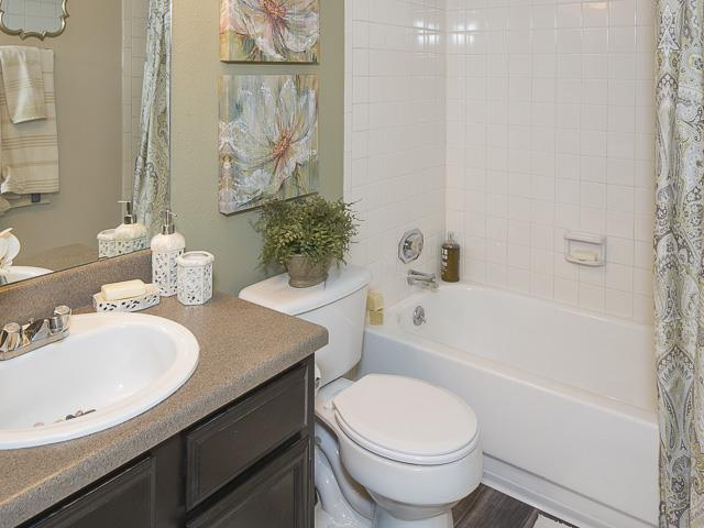Bathroom | Landmark at Prescott Woods Apartment Homes Austin, TX