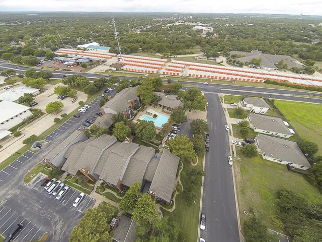 Aerial View | Landmark at Prescott Woods Apartment Homes Austin, TX