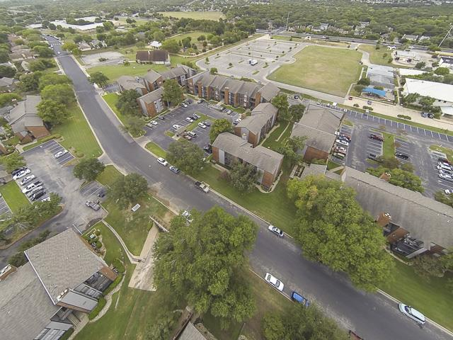 Aerial Image | Landmark at Prescott Woods Apartment Homes Austin, TX