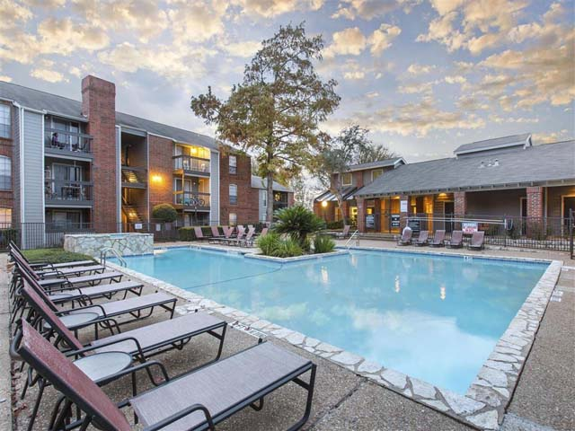 Swimming Pool | Landmark at Prescott Woods Apartment Homes Austin, TX
