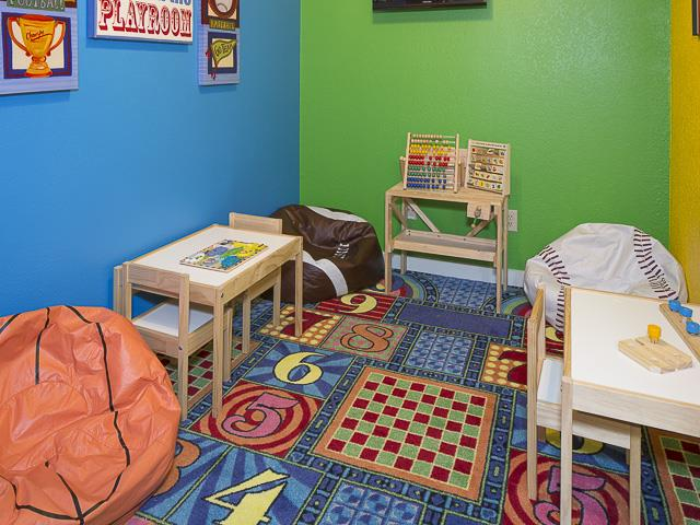 Kids Play Room | Landmark at Prescott Woods Apartment Homes Austin, TX