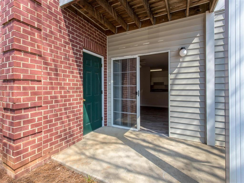 Private Patio | Reserve at River Walk Apartment Homes Columbia, SC