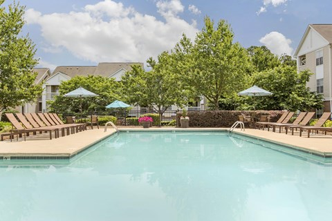 Swimming Pool| The Grayson Apartment Homes Charlotte, NC