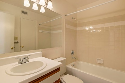 Saybrook|Bathroom with Vanity Lights