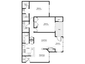The Cottonwood floor plan.
