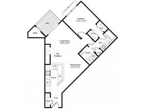The Dogwood floor plan.