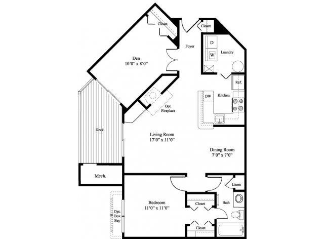Floor Plans Of The Verandahs Apartments In Montgomery Village Md