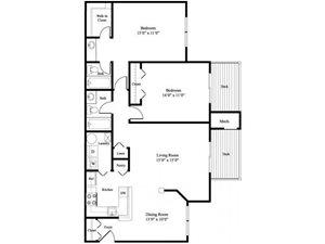 The Poplar floor plan.