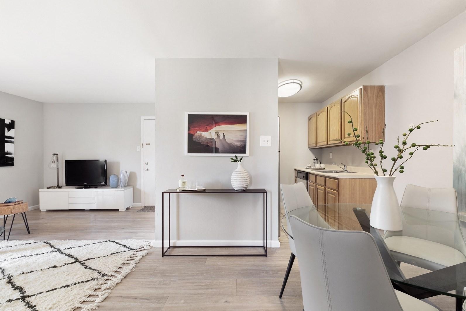 large apartment unit layout in plainsboro