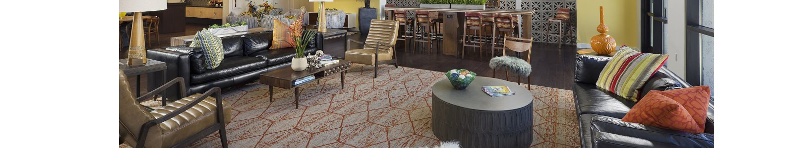 The Perch Clubhouse at The Curve at Melrose Luxury Apartments, Phoenix, AZ
