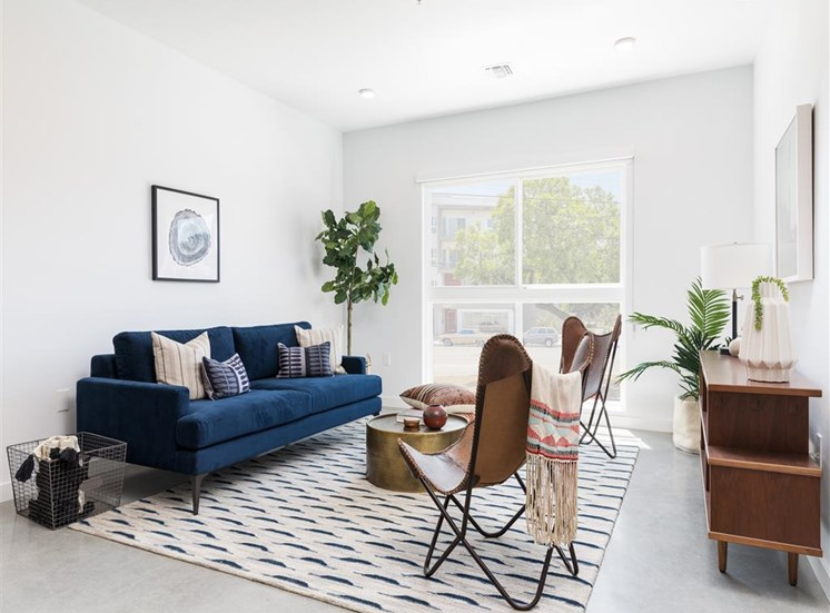 Large living room view with decor inspo! at The Perch, California