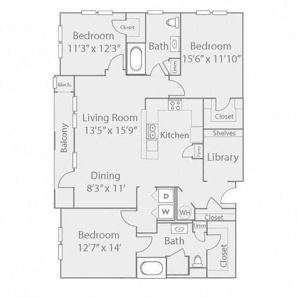 C1 Floor Plan 11