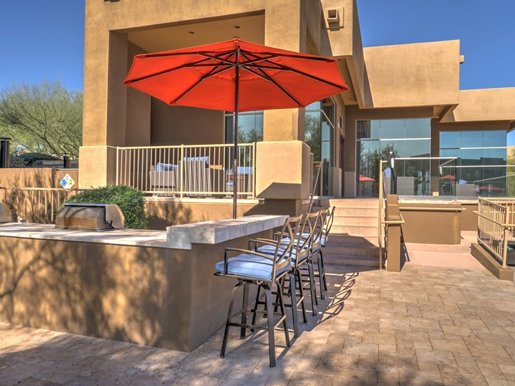 Community Propane BBQ at Ridge View Apartments in Fountain Hills, AZ