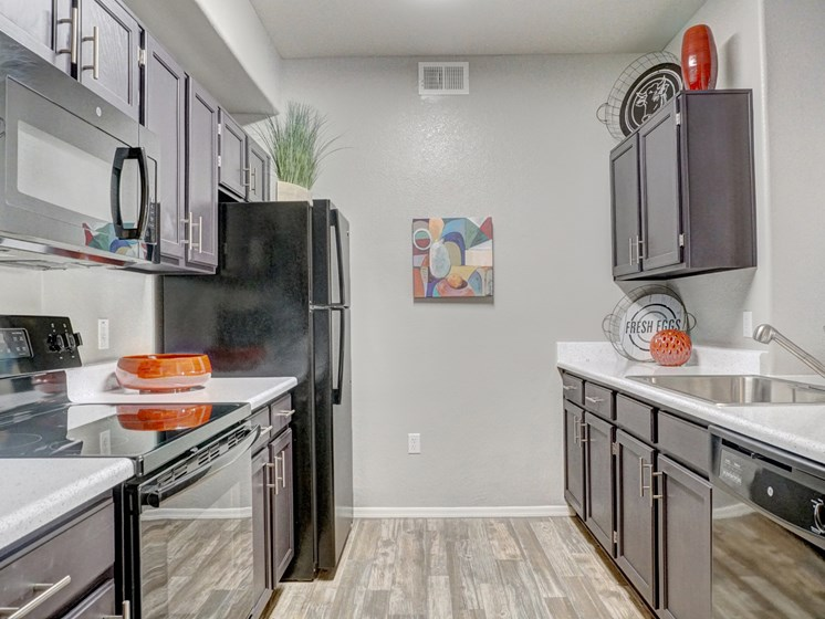 Kitchen at Ridge View Apartments in Fountain Hills, AZ