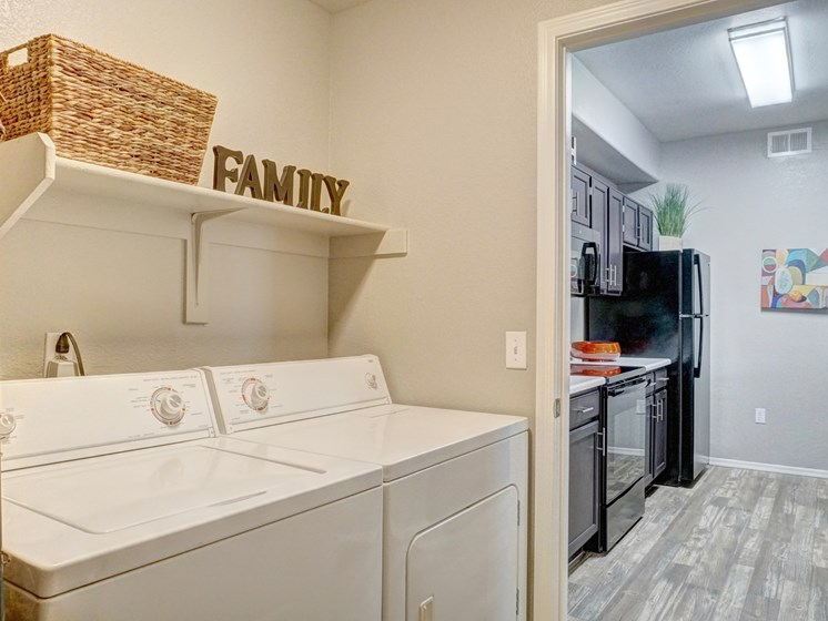 In-Unit Laundry at Ridge View Apartments in Fountain Hills, AZ