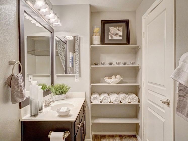 Bathroom at Ridge View Apartments in Fountain Hills, AZ