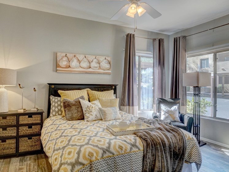 Bedroom at Ridge View Apartments in Fountain Hills, AZ
