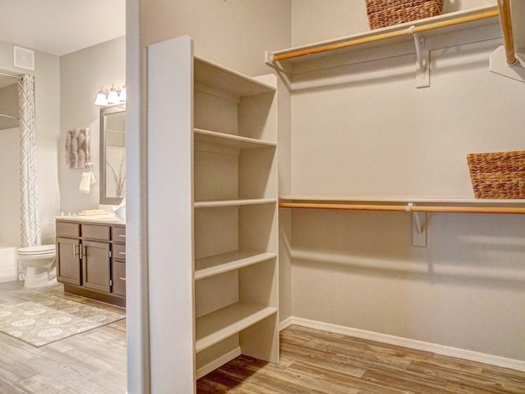 Walk-In Closet at Ridge View Apartments in Fountain Hills, AZ