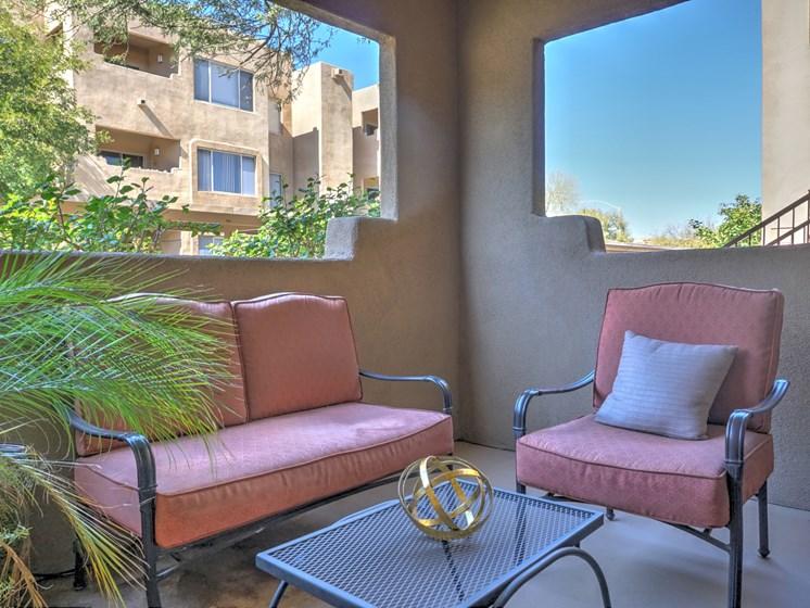 Balcony  at Ridge View Apartments in Fountain Hills, AZ