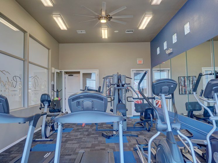 Fitness Center at Ridge View Apartments in Fountain Hills, AZ
