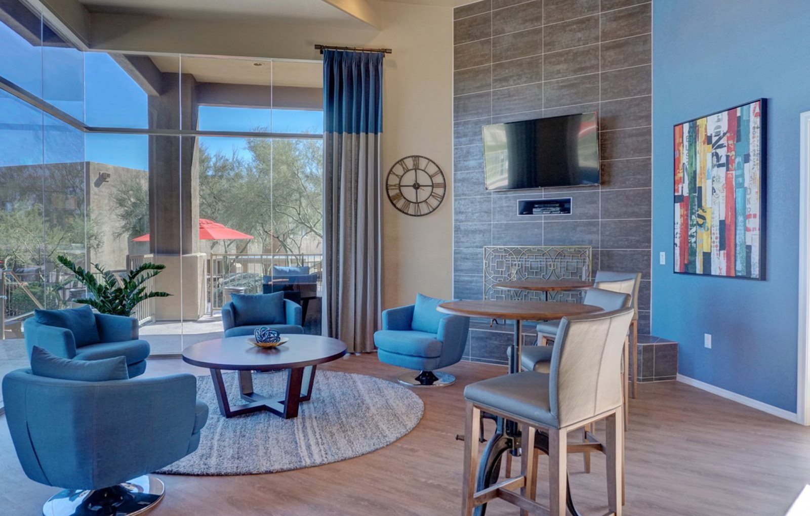 Leasing office at Ridge View Apartments in Fountain Hills, AZ